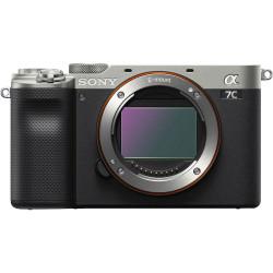 Camera Sony A7C (silver) + Microphone Sony ECM-W2BT Bluetooth Wireless Microphone