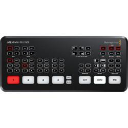 Video Device Blackmagic ATEM Mini Pro ISO HDMI Live Stream Switcher + Video Device Blackmagic ATEM Streaming Bridge for ATEM Mini Pro