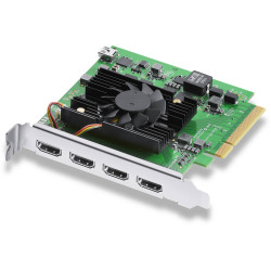 видеоустройство Blackmagic DeckLink Quad HDMI Recorder кепчър карта