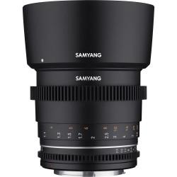 обектив Samyang 85mm T1.5 VDSLR MK2 - MFT