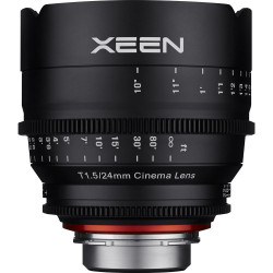 обектив Samyang XEEN 24mm T1.5 - Canon EF