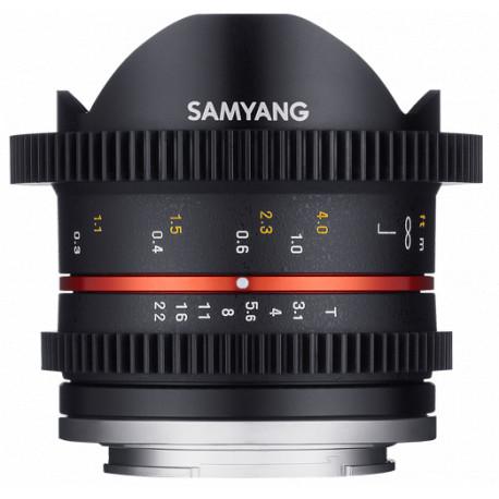 Samyang 8mm T3.1 Cine UMC Fish-еye II - Sony E