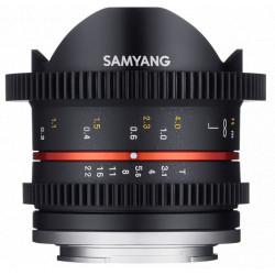 обектив Samyang 8mm T3.1 Cine UMC Fish-еye II - Fujifilm X