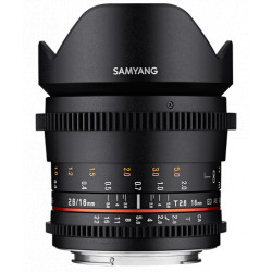 обектив Samyang 16mm T2.6 ED AS UMC - Canon EF