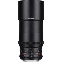 обектив Samyang 100mm T3.1 VDSLR ED UMC Macro - Canon EF