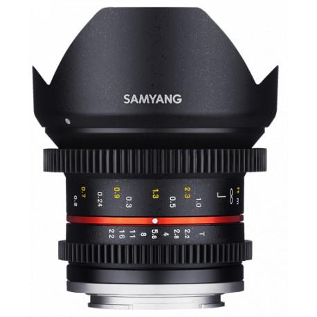 Samyang 12mm T/2.2 Cine CS - mFT