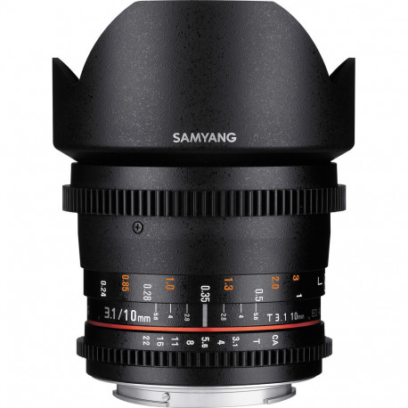 Samyang 10mm T3.1 VDSLR ED AS NCS CS II - Nikon F
