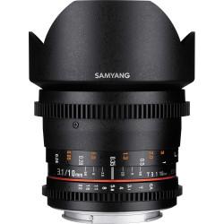 Lens Samyang 10mm T / 3.1 VDSLR CS - Canon EF