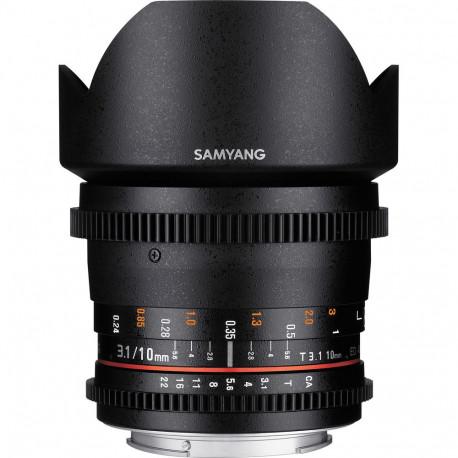 Samyang 10mm T / 3.1 VDSLR CS - Canon EF