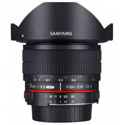 Samyang 8mm f / 3.5 Fish-eye CS II - Nikon F