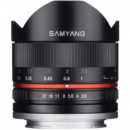 Samyang 8mm f / 2.8 Fish-eye II - Fujifilm X