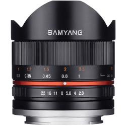 Samyang 8mm f/2.8 UMC Fish-eye II - Canon EOS M