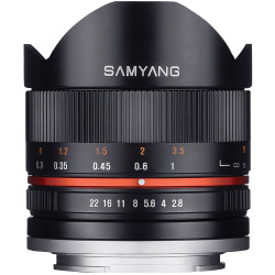 Samyang 8mm f / 2.8 Fish-eye II - Fujifilm X