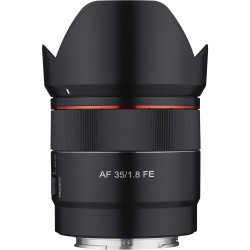 Lens Samyang AF 35mm f / 1.8 FE - Sony E (FE) + Accessory Samyang Lens Station - Sony E