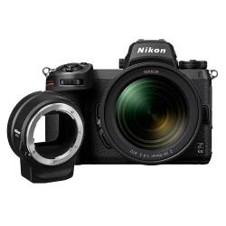 фотоапарат Nikon Z6 II + обектив Nikon Z 24-70mm f/4 S + адаптер Nikon FTZ