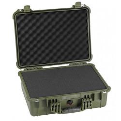 куфар Peli Case 1520 с пяна 1520-000-130E (зелен)