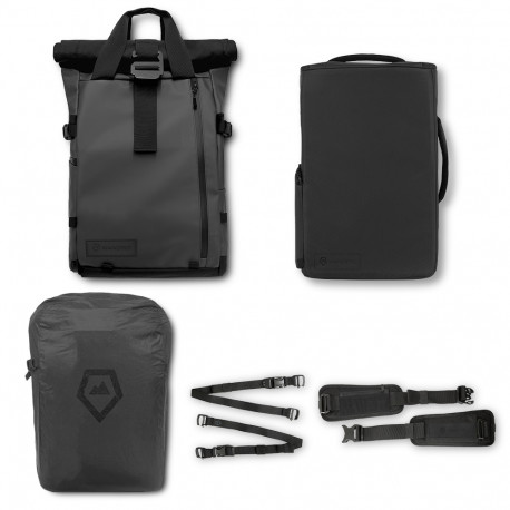 WANDRD THE PRVKE 21L BACKPACK PRO PHOTOGRAPHY BUNDEL BLACK