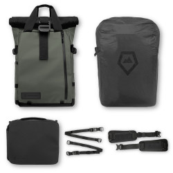 раница WANDRD PRVKE 21L Backpack Photo Bundle V2 (зелен)