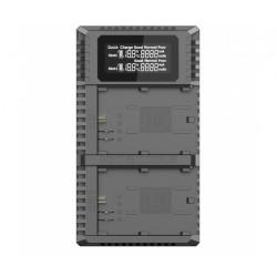 зарядно у-во Nitecore UCN2 Pro Dual Slot USB QC Charger - Canon LP-E6N