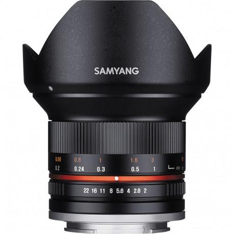 Samyang 12mm F / 2 NCS CS - Canon EOS M