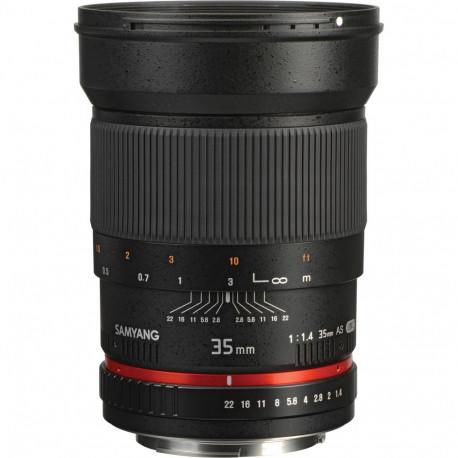 Samyang 35mm f/1.4 - Nikon F