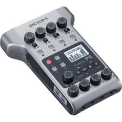 аудио рекордер Zoom PodTrak P4 Portable Multitrack Podcast Recorder + микрофон ZDM-1 Podcast Microphone Pack 2 бр.