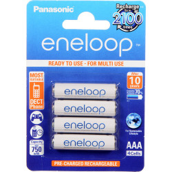 батерия Panasonic Eneloop AAA 4 бр. 750mAh