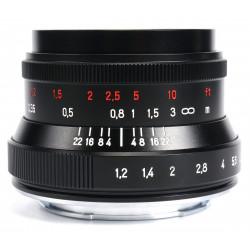 Lens 7artisans 35mm f / 1.2 II - Canon EOS M