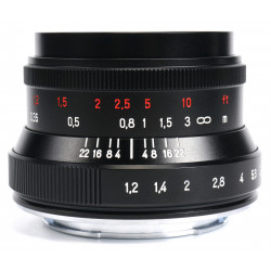 обектив 7artisans 35mm f/1.2 II - Canon EOS M