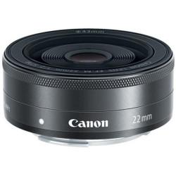 обектив Canon EF-M 22mm f/2 STM (употребяван)
