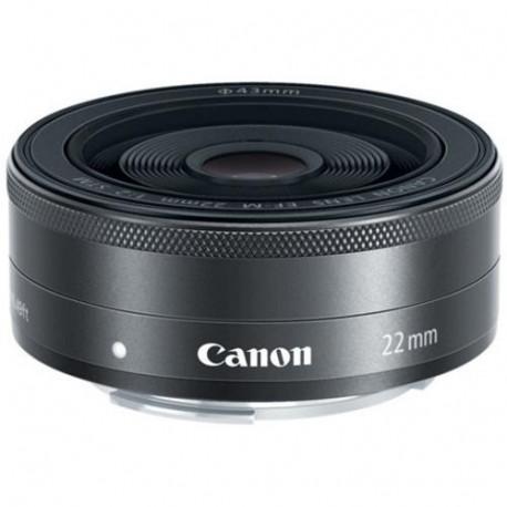 Canon EF-M 22mm f/2 STM (употребяван)