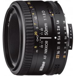 обектив Nikon AF Nikkor 50mm f/1.8D (употребяван)