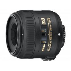 обектив Nikon AF-S DX Micro Nikkor 40mm f/2.8G (употребяван)