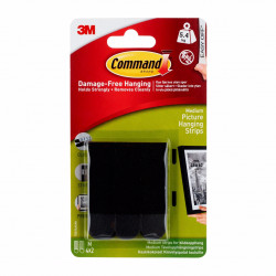 Accessory 3M Command Picture Hanging Strips Medium (black)