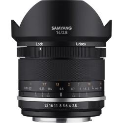 Lens Samyang MF 14mm f / 2.8 WS MK2 - Nikon AE