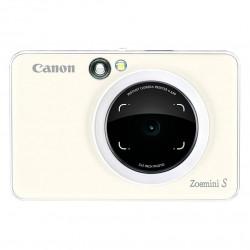фотоапарат за моментални снимки Canon Zoemini S Instant Camera Printer (бял)
