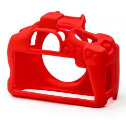 EasyCover ECC4000DR - Силиконов протектор за Canon 1300D / 2000D / 4000D (червен)