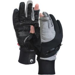 gloves Vallerret Women's Nordic M (black / gray)