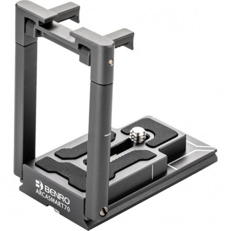 Benro Arcasmart 70 Tripod plate with 70 mm smartphone adapter