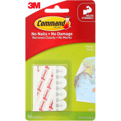 Accessory 3M Command Poster Strips 12 pcs.