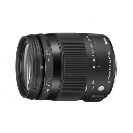 18-200mm f/3.5-6.3 DC Macro OS HSM Contemporary - Canon EF-S (употребяван)