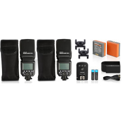 светкавица Hahnel Modus 600RT MK II Wireless Pro Kit - Canon