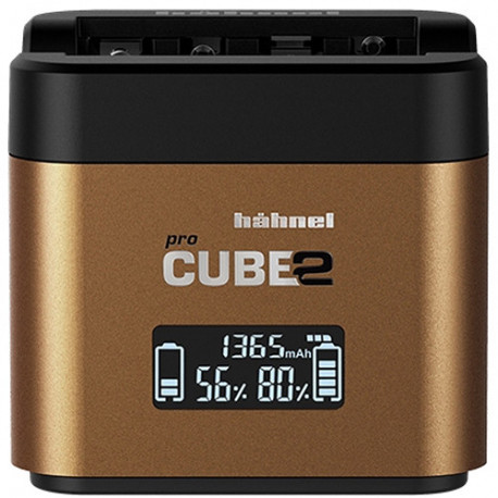 HAHNEL PROCUBE 2 TWIN CHARGER - OLYMPUS BLN-1/BLS-5/BLH-1