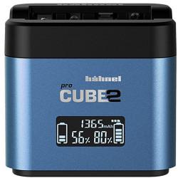 Hahnel Procube 2 Twin Charger - Panasonic BLC12 / BLF19 / BLG10 / Fujifilm NP-W126