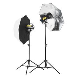 Kit Quadralite Move X 200 Kit - studio lighting set
