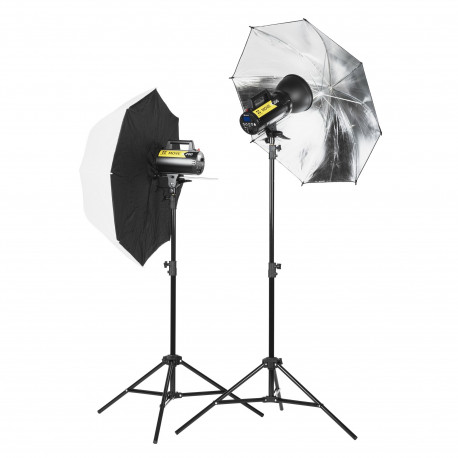 Quadralite Move X 200 Kit - studio lighting set