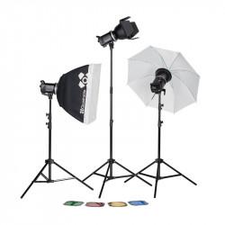 Quadralite UP! 700 Kit - studio lighting set