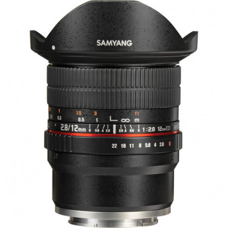 Samyang 12mm f/2.8 ED AS NCS Fisheye - Sony E (FE)