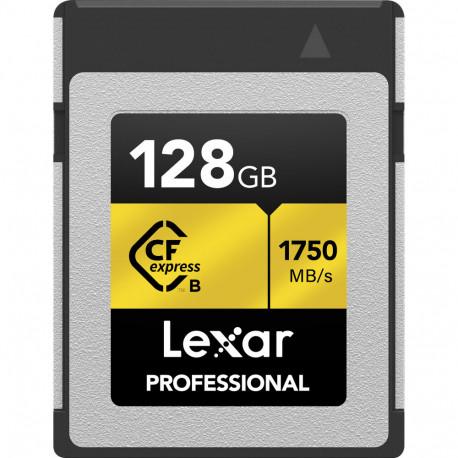 LEXAR CFEXPRESS 128GB R1750/W1000 MB/S TYPE B LCFX10-128CRB