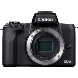 фотоапарат Canon EOS M50 Mark II (черен) + карта Lexar Professional SD 64GB XC 633X 95MB/S